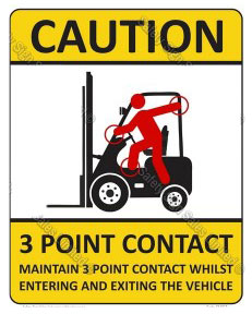 3-Point Contact Forklift