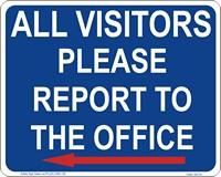 GA119B_Visitors report to office_left arrow
