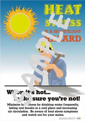 HS015b-heat stress sun