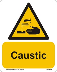 WA84_Warning Caustic