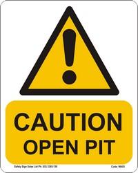 WA93_Caution Open Pit